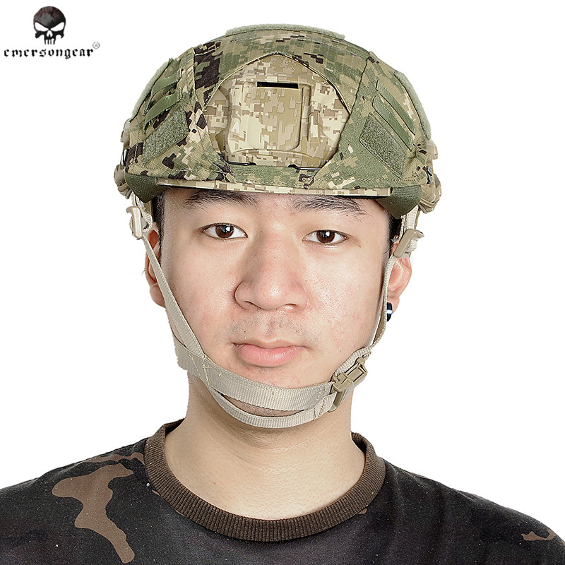 Emerson Tactical Fast Helmet Cover For Ops-Core Ballistic Cycling Protected Safety Outdoor CS Game For Safety Helmet 11 Patterns
