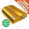 Marketing directo 1000 metro cuadrado, GSM970-GY booster/repetidor, 900 Mhz GSM repetidor, amplificador amplificador de señal Para El teléfono móvil