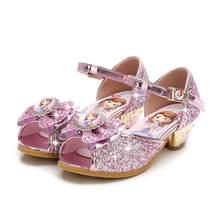 b44b9ea0 Zapatos de los niños para las niñas sandalias nueva marca niñas zapatos de  princesa zapatos de los niños de la fiesta de la boda.