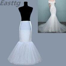 Высококачественный расклешенный Свадебная Нижняя юбка для невесты свадебное платье Нижняя юбка для свадебных аксессуаров кринолиновый подъюбник