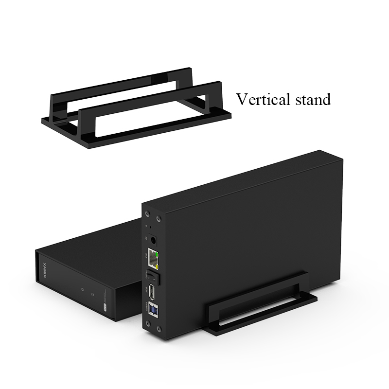 Interface Aluminum wifi HDD Wifi Sata Nas HDD Caddy-in Case 3.5 External Antenna
