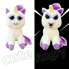 feisty pets soft toys for children plush stuff stuffed animals anime rabbits Bear Dog Panda unicornio unicorn unicorno keychain(China)