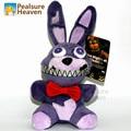 Новые 5 Пять Ночей в фредди Боди Фиолетовый Кролик Фаршированный Плюшевые Игрушки Ролевые Мультфильм Кукла Животных Дети Дети Подарок Freddys