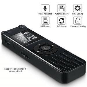 Image 4 - V91 Vandlion Professionele Voice Activated Digital Audio Voice Recorder 16 Gb 32 Gb Opname Dictafoon Wav MP3 Speler