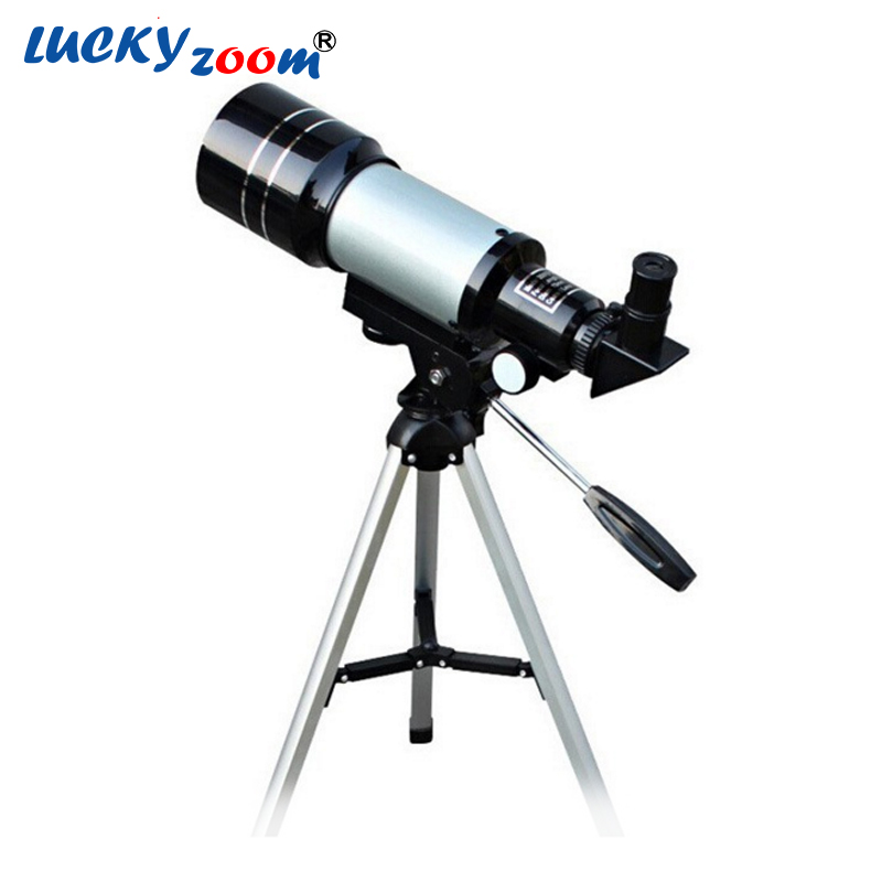 Luckyzoom 150X Zoom HD Outdoor Monocular Space Astronomical Telescope With Portable Tripod Bird Animal Spotting Scope F30070 bosma 80 900 astronomical telescope monocular equatorial refractive fully coated telescope with portable tripod w2358b