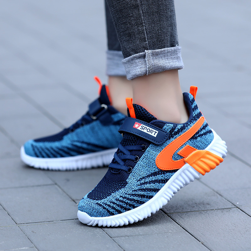ULKNN boys 39 2019 autumn winter comfortable student shoes big boy Lightweight casual shoes sneakers Children 39 s sports shoes in Sneakers from Mother amp Kids