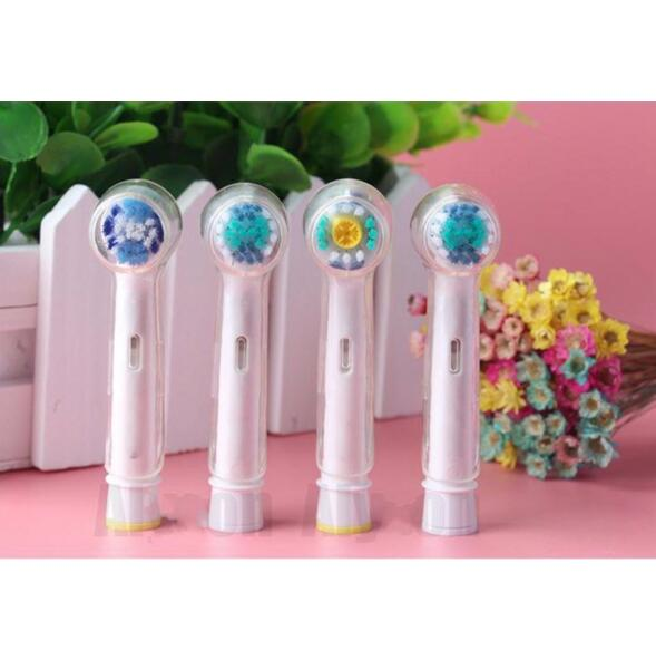 4pcs/lot Electric Toothbrush Heads Protective Cover For Oral B Braun Tooth Brush Heads Travel Dustproof Keep Clean Transparent
