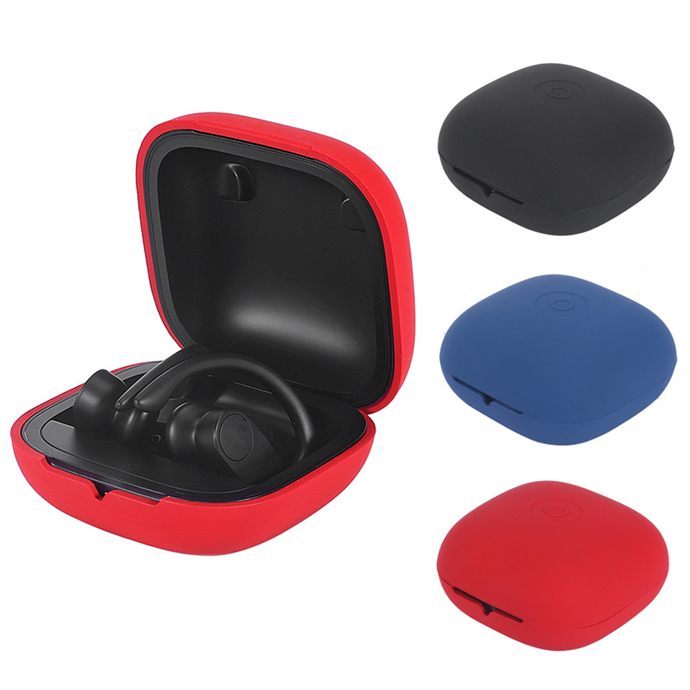 New Travel Silicone Protective Case Full Cover For Beats Powerbeats Pro Wireless Earphones Case Earbuds Case Wireless Headset