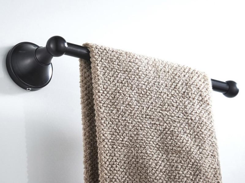 black towel ring towel bar towel holder 1-1