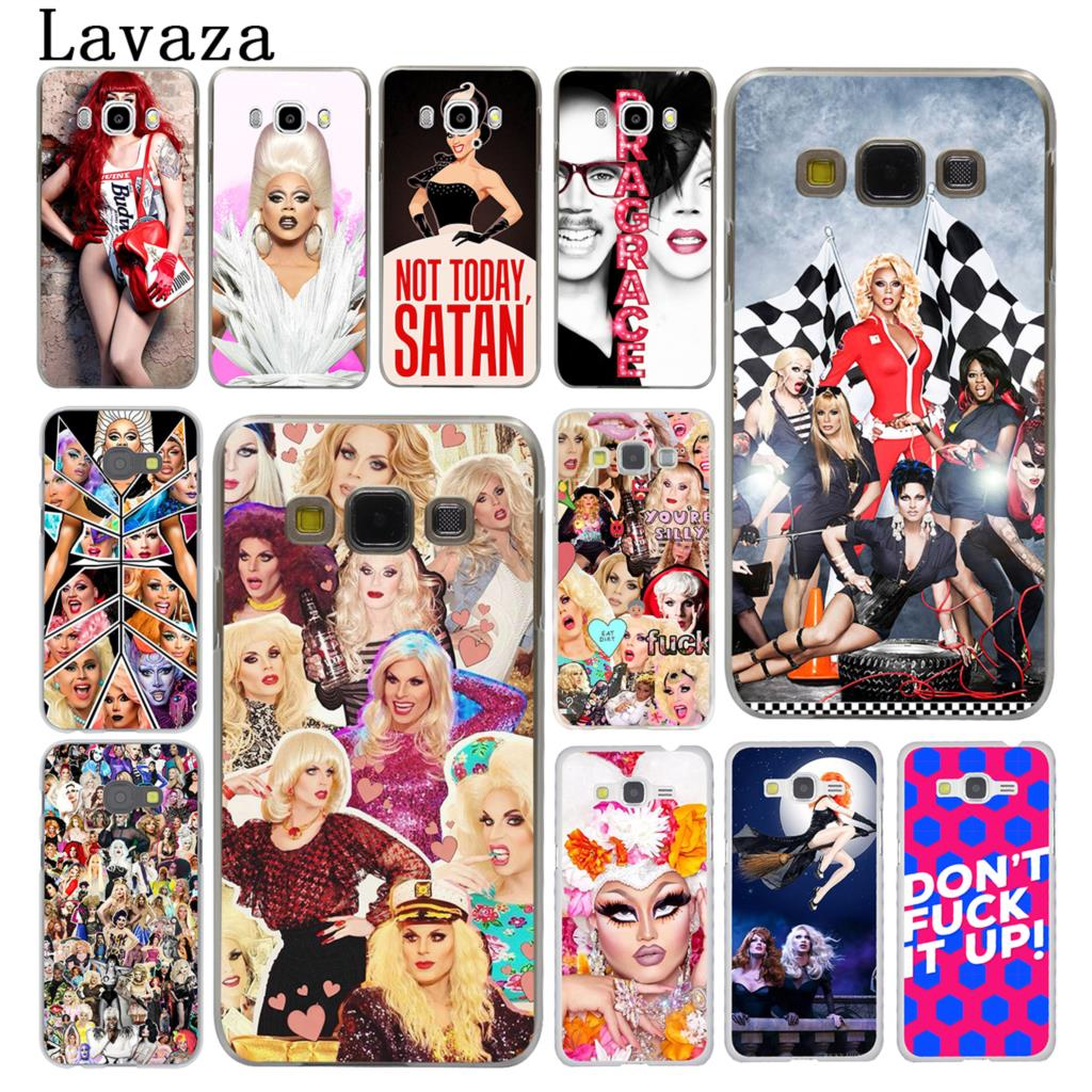 Lavaza RuPauls Drag Race Hard Phone Case for Samsung Galaxy J7 J1 J2 J3 J5 2015 2016 201 ...