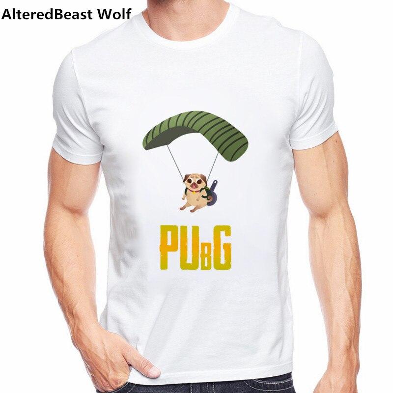 Cool Playerunknown S Battlegrounds T Shirt Large Size: Pubg Funny T Shirts Playerunknown's Battlegrounds T Shirt