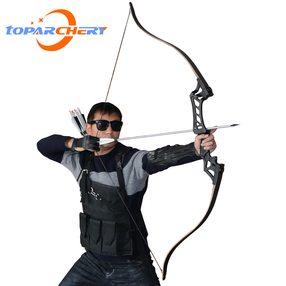 60inch 30 50lbs Recurve Bow Archery American Hunting Shooting Take Down Bows Body Mechanics for Right