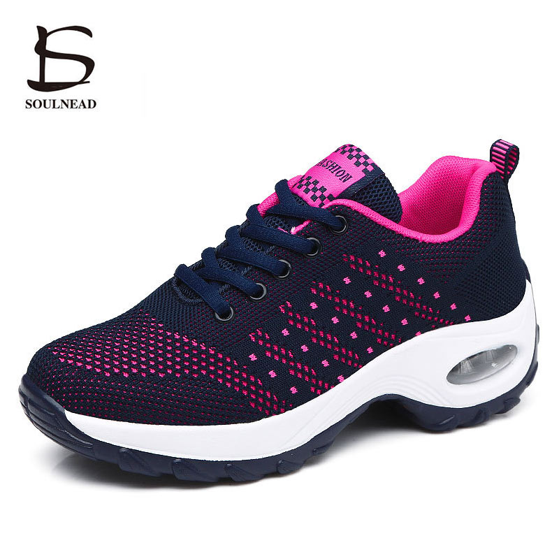 Womans Sport Shoes Rose Purple Outdoor Running Shoes For Ladies Breathable Mesh Spring Autumn Walking Jogging Sneakers TrainersWomans Sport Shoes Rose Purple Outdoor Running Shoes For Ladies Breathable Mesh Spring Autumn Walking Jogging Sneakers Trainers
