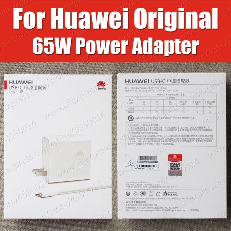 CP81 USB PD 65W SuperCharge Original Huawei MateBook X Pro D E Power Adapter MagicBook MateBook 13 charger CP81 USB PD 65W SuperCharge Original Huawei MateBook X Pro D E Power Adapter MagicBook MateBook 13 charger