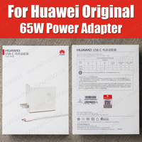 CP81 USB PD 65W SuperCharge Original Huawei MateBook X Pro D E Power Adapter MagicBook MateBook 13 charger