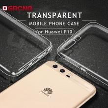 Прозрачный силиконовый телефон чехлы для Huawei P10 P8 P9 Lite 2017 чехол противоударный ТПУ мягкий чехол для Huawei Honor 9 8 чехол