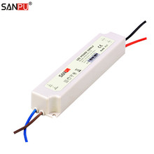 SANPU SMPS 12 v 20 watt LED Netzteil Wasserdicht 1a Konstante Spannung Schalter Fahrer 220 v 110 v ac -dc Licht Transformator Weiß IP67