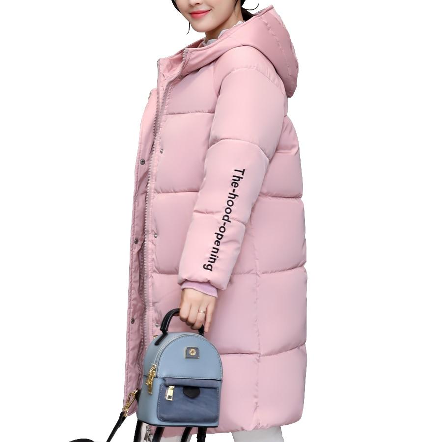 winter jacket women 2017 Cotton Padded Hooded Long Winter coat women Parka Thicken Warm Plus size 4XL jaqueta feminina inverno