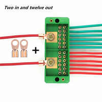 220V Household Wire Junction Plastic Electronic Box Terminal Wire Connection Enclosures for Electronics Project Box