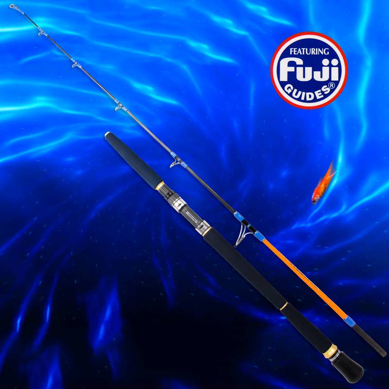 Tsurinoya New Jigging Rod 1.65m  260g PE 2-4  Lure Weight 100-300g Carbon Jig Rod Boat Fishing Rods FUJI Guides Big Game Rod 1 65m 1 8m high carbon jigging rod 150 250g boat trolling fishing rod big game rods full metal reel seat sic guides eva handle