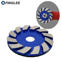 3pieces Lot 4 Inches Metal Grinding Pads 100mm Diamond Polishing Pads Metal Dry Concrete Polishing Pad