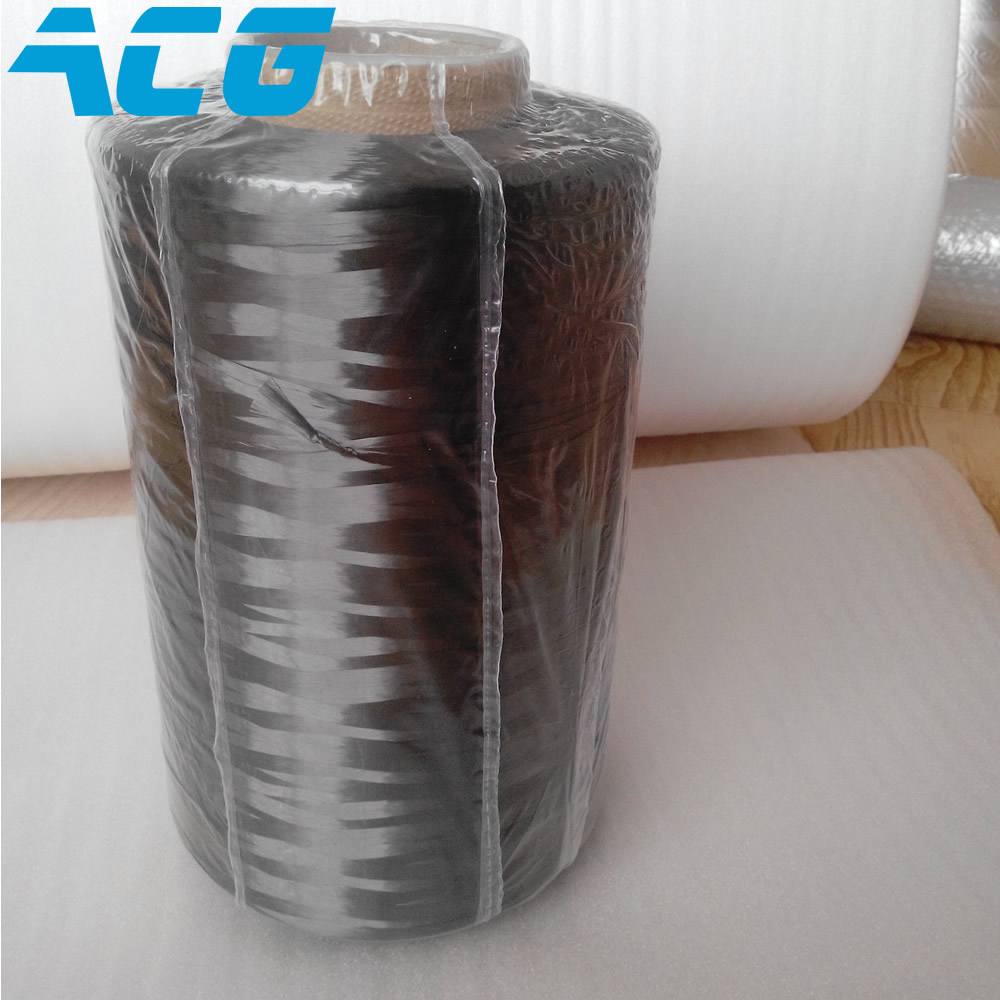 Filamento condutor do aquecimento 4900mpa t700 do filamento do fio de roving da fibra do carbono do módulo alto 12k feito no japão
