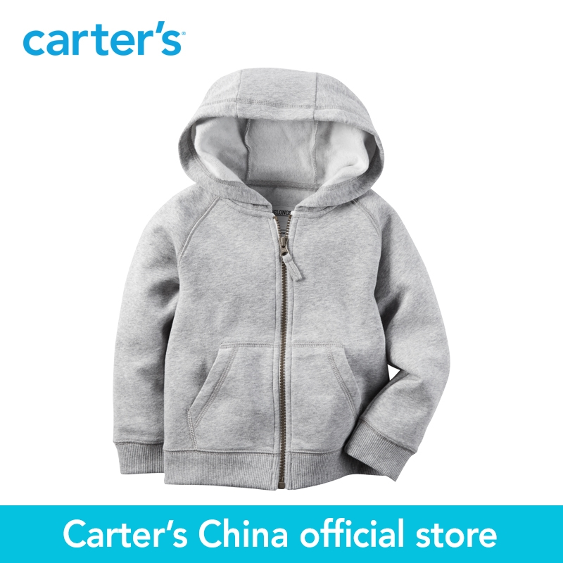 Carter's 1pcs baby children kids Fleece Zip-Up Hoodie 243G510 ,sold by Carter's China official store