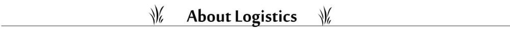 About Logistics