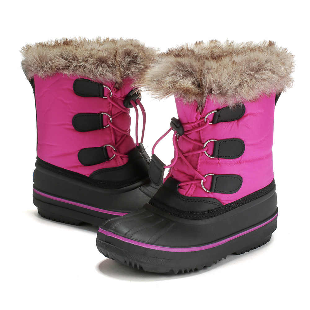 6bdd4bd54bb4 Detail Feedback Questions about ULKNN Hot sale Girls Winter Boots Low  Cylinder Red