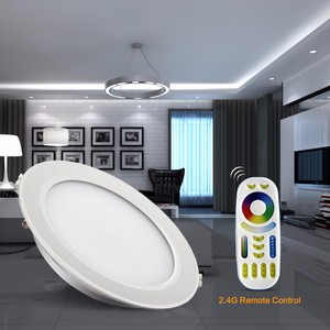 Image 4 - 6W 12W RGB CCT LED Downlight For Ceiling Mi Light FUT068 FUT066 Round Panel Lamp Dimmable Group Control RF Remote Controller