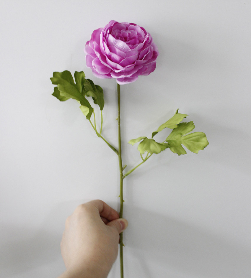 10pcs Artificial Flower Nectar Shao Lin Fake Silk Flower Upscale