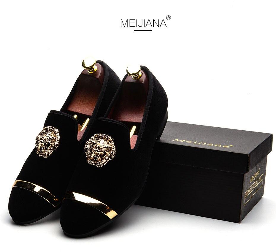 HTB1oFh6XZnrK1RjSspkq6yuvXXaN MEIJIANA New Big Size Men's Loafers Slip on Men Leather Shoes Luxury Casual Fashion Trend Brand Men's Shoes Wedding Shoes