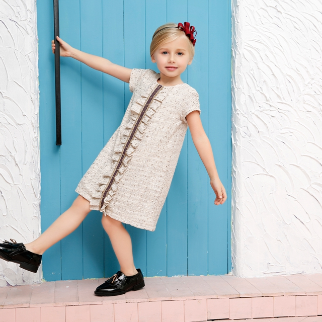 Cotton frocks designs baby girl dresses wholesale children s boutique  clothing girls party dresses caab722d4c