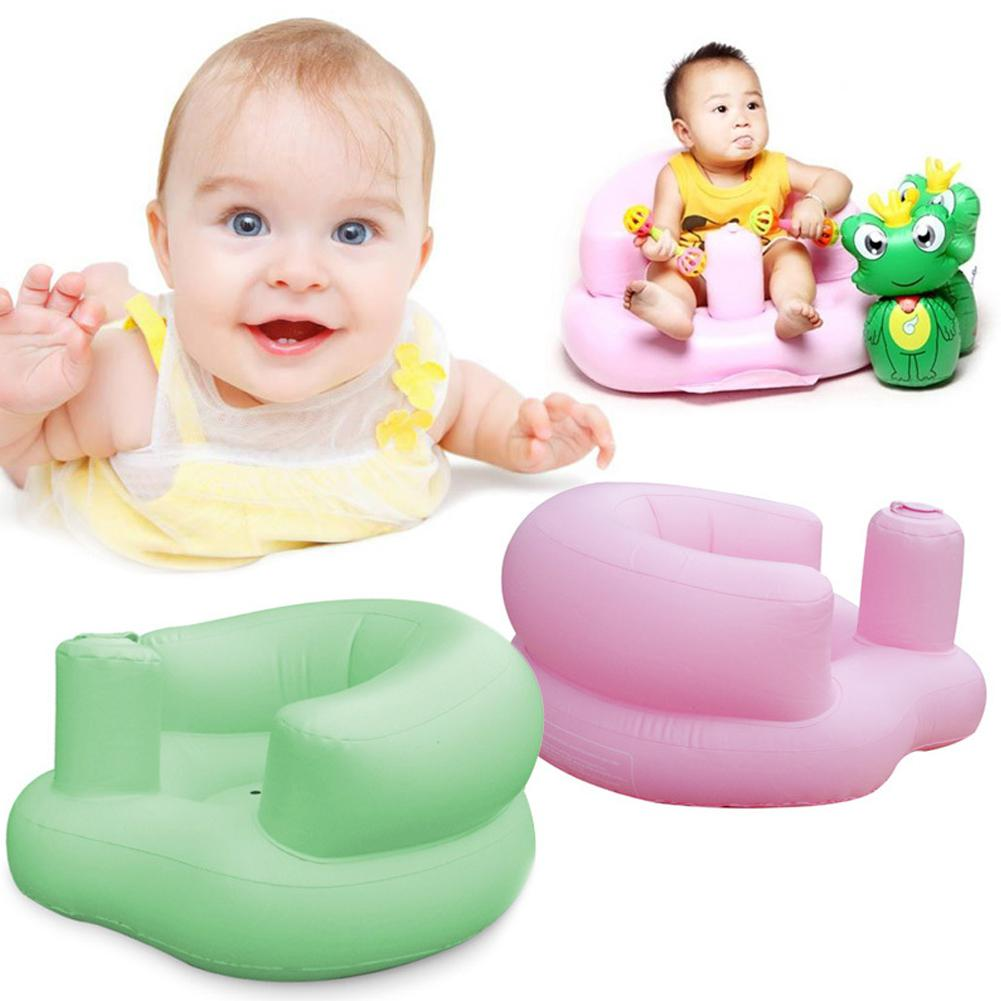 Kidlove Portable Inflatable Chair PVC Kids Seat Multifunctional Baby Chair Sofa Infant Safety Seat Mat Sofa Learn Stool