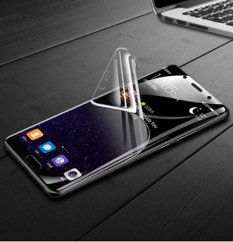 Depan atau Belakang Hidrogel Film Penuh Cover untuk Huawei P20lite P30pro 3D Lembut Pelindung Layar untuk Mate20 Pro V20 (tidak Tempered Kaca)