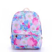 backpacks for teenage girls Harajuku style pretty floral printing school bags waterproof mochilas feminine: