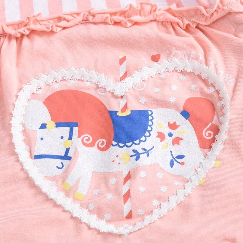 Dziewczynka chłopiec Romper Lato kombinezon Odzież dla dzieci - Odzież dla niemowląt - Zdjęcie 3