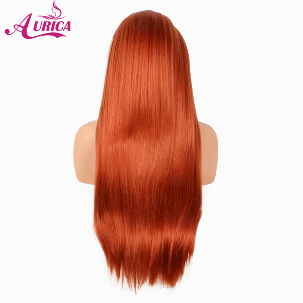 Aurica Thick Heat Safe Synthetic Hair Lace Front Wig For Halloween