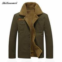 Mens Winter Jacket Men Military Fleece Warm Jackets and Coats Fur Collar Causal Outwear Coat Male Jaqueta Masculina 4XL 5xl 6XL