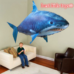 Remote Control Shark Toys Air Swimming Fish Infrared RC Flying Air Balloons Nemo Clown Fish Kids Toys Gifts Party Decoration