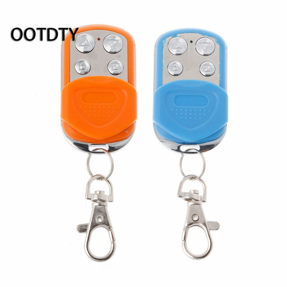 433Mhz Copy Duplicator Cloning 433 Mhz Wireless Remote Control light switch Transmitter for Garage Door Gate key hi q remote control garage door key replaceable cloning gate new duplicator key 433mhz