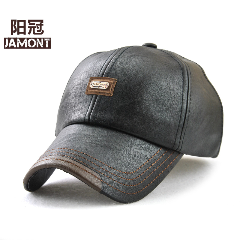 d2e73166c3d Detail Feedback Questions about JAMONT New fashion high quality faux leather  Cap fall winter hat casual snapback baseball cap for men women hat  wholesale on ...