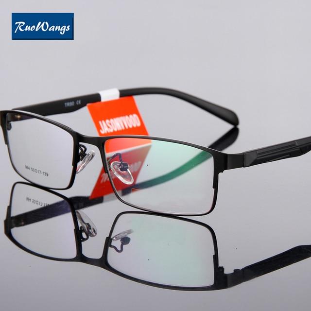 ffc5ed2747 RuoWangs eye glass Frame oculos de sol men eye glasses frame eyeglasses men  spectacle frame optical