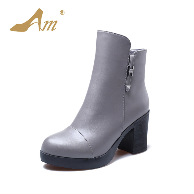 QIN&X Women's bloc carré peu profond Tête bouche Shoes,le riz blanc,38