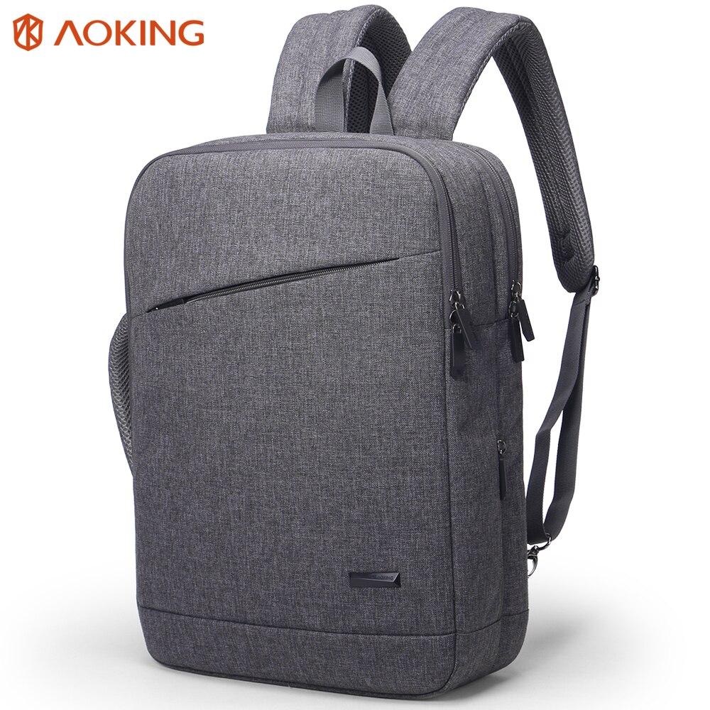 Aoking Новый Многофункциональный Нейлон Рюкзаки 15.6 дюймов ноутбук рюкзак Для мужчин рюкзак для колледжа школы стильный Бизнес рюкзак