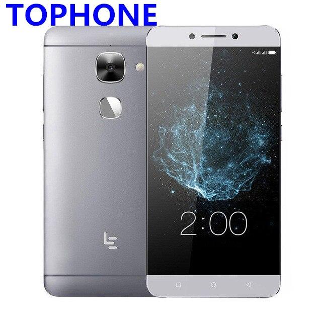Letv LeEco S3 X526/X522 4g LTE Mobile Téléphone 3 gb RAM 32 gb ROM Snapdragon 652 Octa -core 5.5 16MP D'empreintes Digitales 3000 mah smartphone