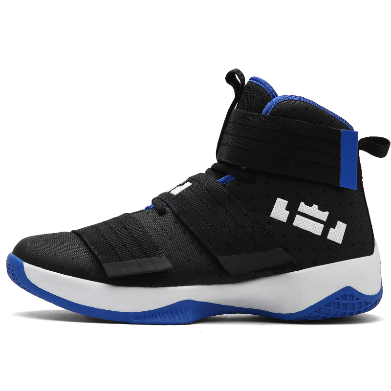 2017 Plus Size Basketball Shoes For Men Breathable High Top Sneakers Outdoor Sports Shoes Men Training Athletics Basket Homme image