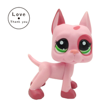 pet Old Original Toys Pink Great Dane 2598 Cute Dog Standing Free Shipping
