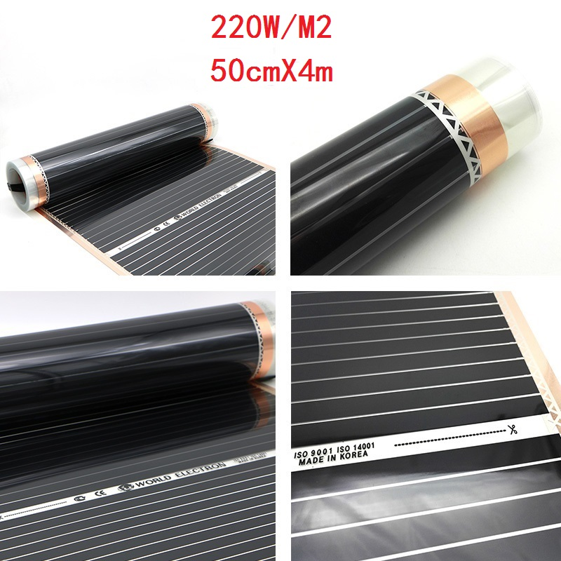 Minco Heat 2 Square Meters Floor Heating Electric Infrared