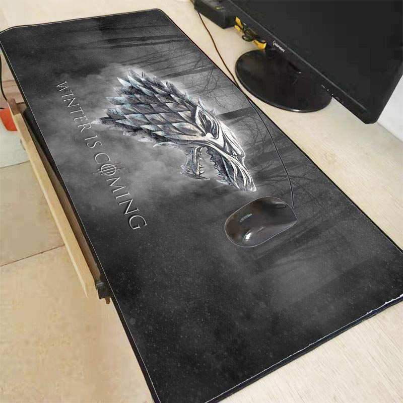 Mairuige Game Of Thrones Mouse Pad Gamer 900x400mm Notbook Mouse Mat Large Gaming Mousepad Locking Edge Mouse PC Desk Padmouse